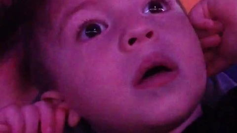 A 2 year-olds reaction to the opening of WWE Smackdown will make you smile, guaranteed!