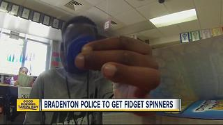 City Council approves funding for Bradenton Police Department's fidget spinners - Video