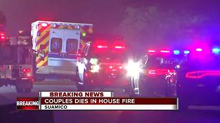 Elderly couple found dead in Suamico house fire