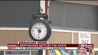4.2 Earthquake rattles Oklahoma - Video