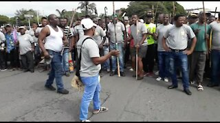 SOUTH AFRICA - Durban - Human rights day march (Video) (NrS)