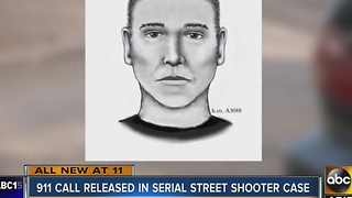911 call released from latest Serial Street Shooting case - Video