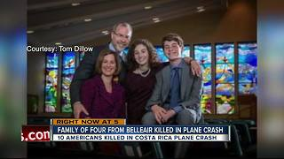 Tampa Bay family among 12 killed in plane crash in Costa Rica - Video