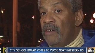 Baltimore school board votes to close 4 schools