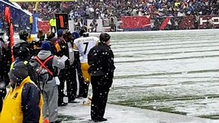 Snow Falls During Bills-Steelers Game - Video