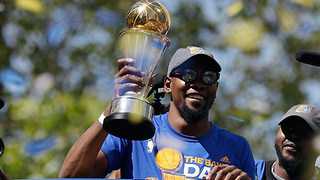 Kevin Durant Fires Back at Haters After Championship Parade - Video