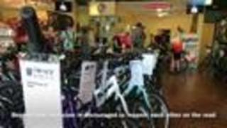Biking Community Responds To Hit And Run Crash - Video