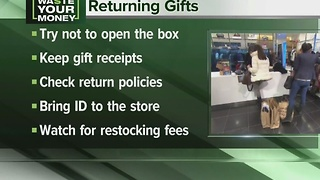 Returning Christmas gifts - Video