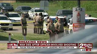 Man dies after officer-involved shooting - Video