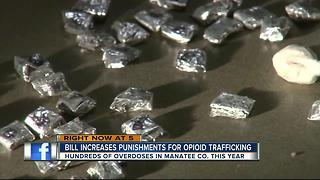 Gov. Scott signs bill to increase punishments for opioid trafficking - Video
