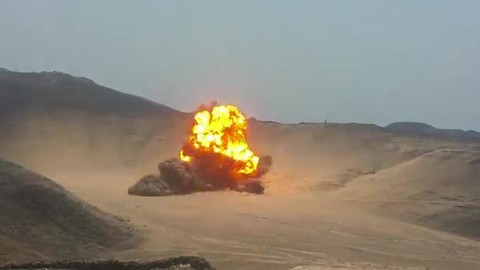 [SHOCK] 3000 Pounds Of Houthi Mines Detonated!!!