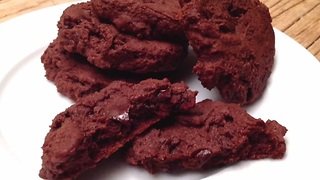 How to make double chocolate brownie cookies