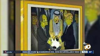 2002 Simpsons episode predicted Trump orb encounter? - Video