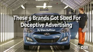 9 brands sued for false advertising