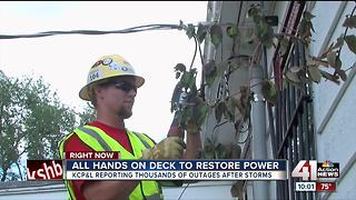 Metro neighborhoods recovering from storm damage - Video