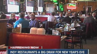 Indy restaurants a big draw for New Years Eve - Video