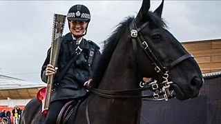 Dancing Horse Trained To Fight Crime - Video