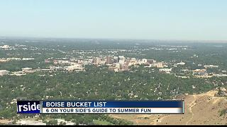 Boise Bucket List: Things you need to do this summer in the City of Trees - Video