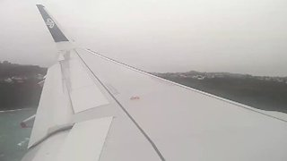 'Wild Ride' for Passengers Into Wellington Airport During Storm - Video