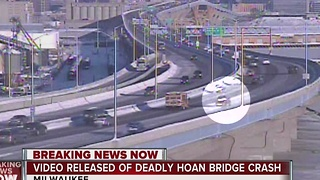 Video released of fatal Hoan Bridge crash - Video