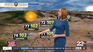 Bakersfield has officially hit 15 days of triple digits - Video