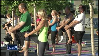 'FIT in the Parks' returns to promote healthy living - Video
