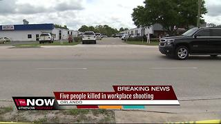 Fired, 'disgruntled' employee kills 5 at Orlando workplace - Video