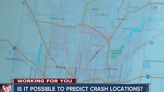Police say they can predict crash locations - Video
