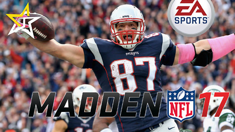 Rob Gronkowski Scores The Cover For 'Madden 17' And It Looks Awesome