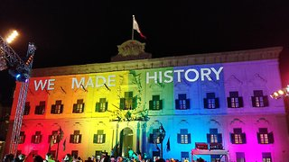 Malta Celebrates Legalization of Same-Sex Marriage - Video