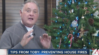 Tips from Toby: Preventing House Fires