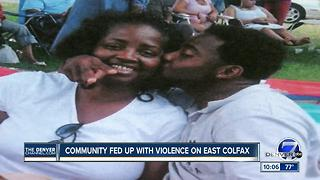 Mother shares familiar story of son's murder on East Colfax - Video