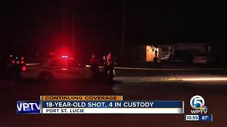 2 charged after Port St. Lucie teen shot while lying in bed - Video