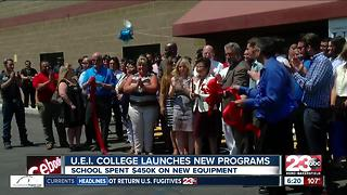 U.E.I. College Launches New Programs - Video