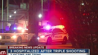 3 hospitalized after shooting in midtown Tulsa - Video