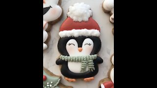 AMAZINGLY CUTE CHRISTMAS COOKIE! 🎅🏻