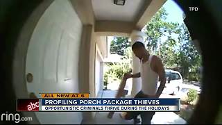 Opportunistic porch thieves are thriving during holiday season - Video