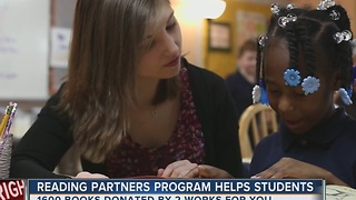 Reading Partners Program Is Helping Area Students - Video