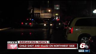 9-year-old boy dies after being shot in the face on Indy's northwest side - Video