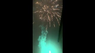 2021 New Years Live Fireworks Celebrations Up Close Pt1