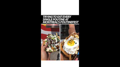 Trying To Eat Every Single Poutine At Montreal's Poutinefest