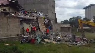 More Than a Dozen People Missing After 7-Storey Building Collapses in Nairobi - Video