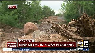 Search continues for missing person after deadly flash flood