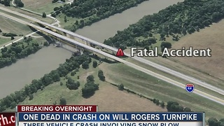 Two dead after crashes in Rogers County - Video