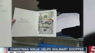Anonymous Person Gives To Walmart Shopper