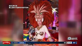 Iconic show costumes stolen from longtime Las Vegas producer