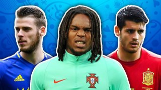 Players To Watch At EURO 2016 XI | de Gea, Sanches & Morata! - Video