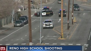 Officer-involved shooting at Reno high school - Video