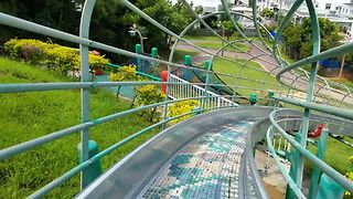 Playground Rollercoaster Ride - Video