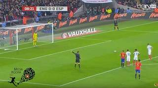 Adam Lallana Penalty Goal Vs Spain - Video